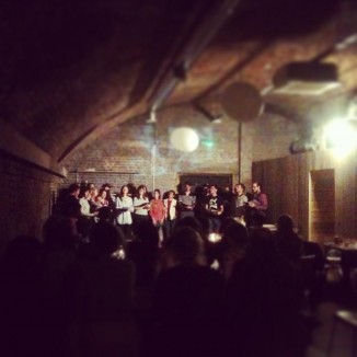 Trad Academy Sea Shanty Choir perform at Trip Space